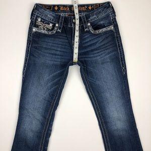 Rock Revival Jeans - Rock Revival Sapphire Boot Stretch Jean